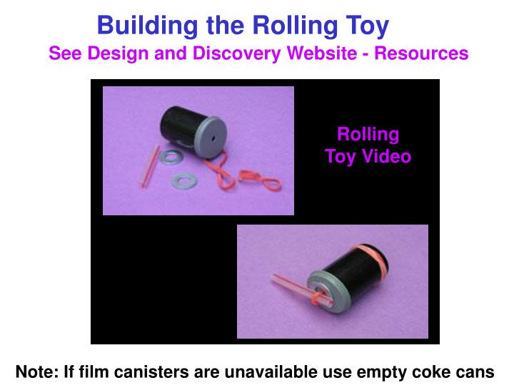 Rolling Toy Video