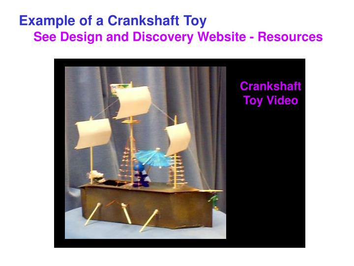 Crankshaft Toy Video
