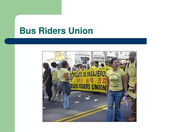 Bus Riders Union