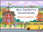 mrs camilletti s second grade