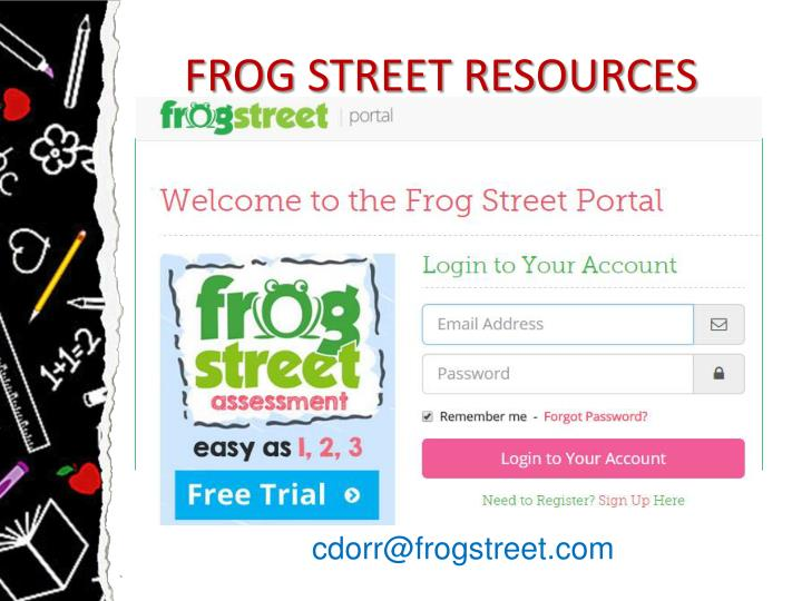 FROG STREET RESOURCES