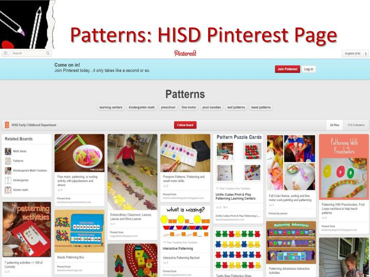 Patterns: HISD