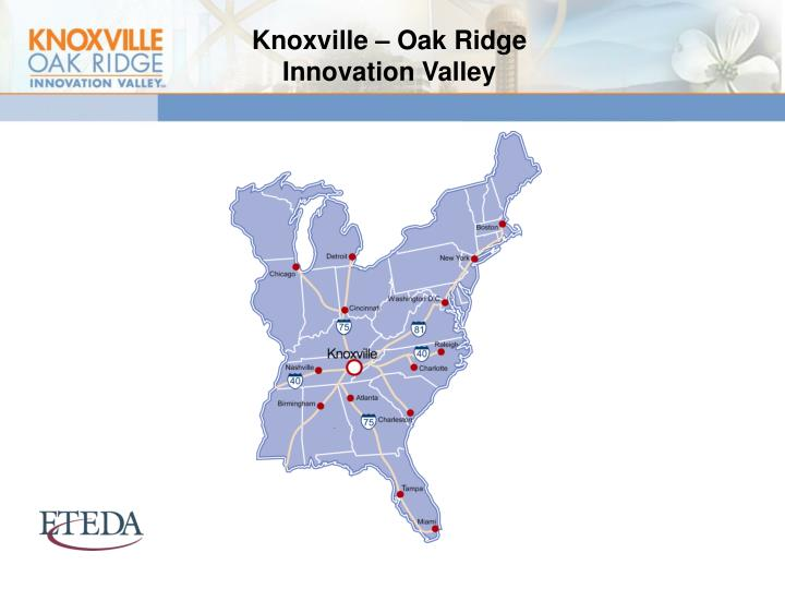 Knoxville – Oak Ridge