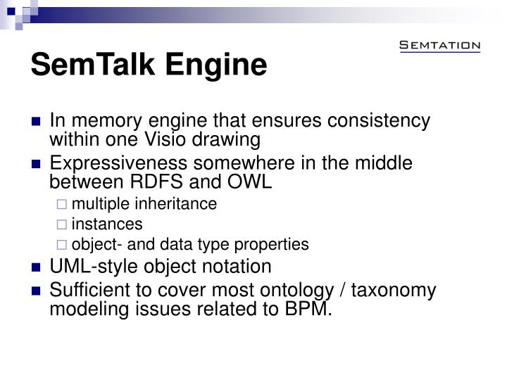 SemTalk Engine
