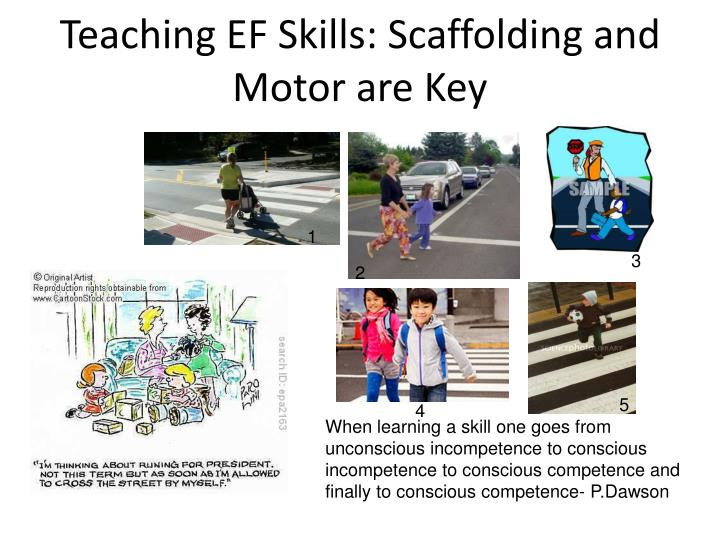 Teaching EF Skills: Scaffolding and Motor are Key