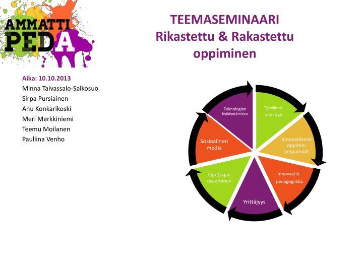 TEEMASEMINAARI
