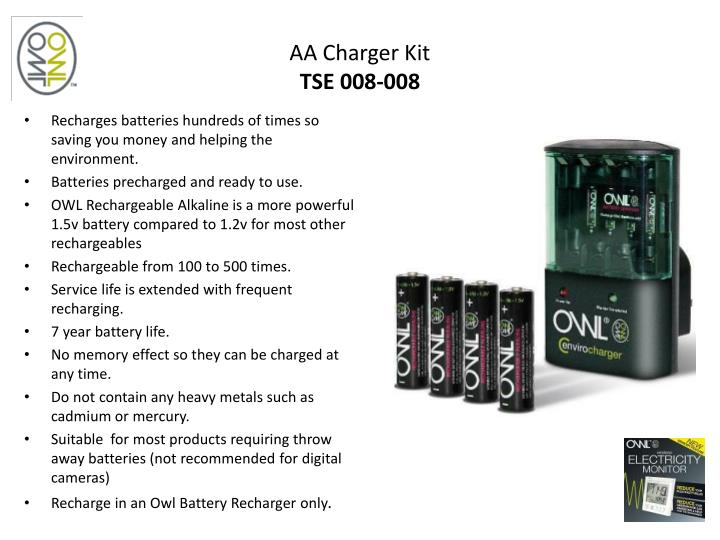 AA Charger Kit