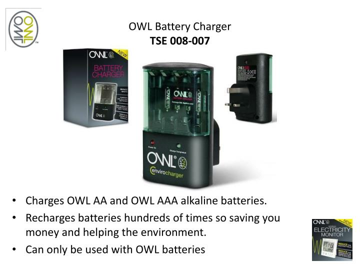 OWL Battery Charger