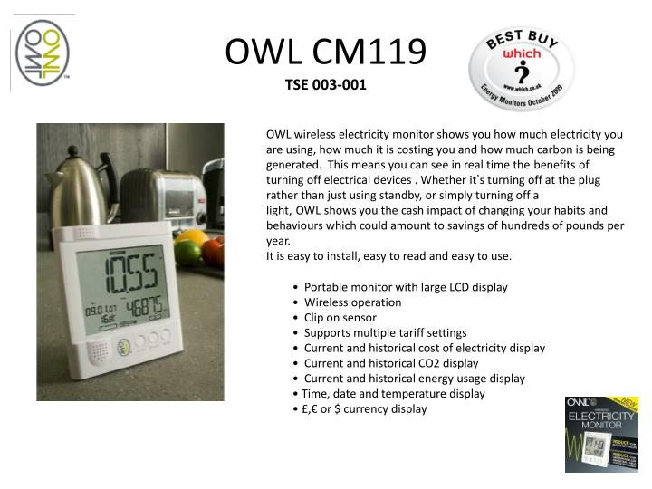 OWL CM119