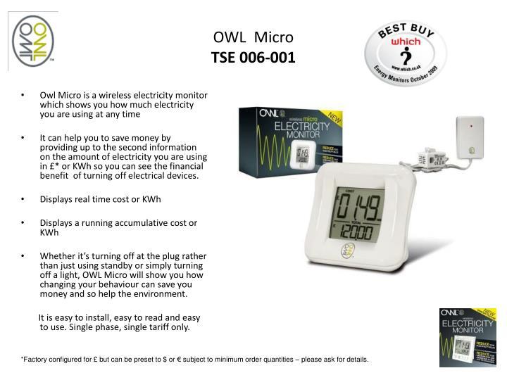 OWL  Micro