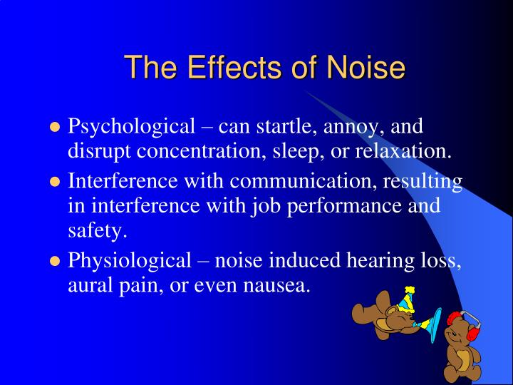 The Effects of Noise