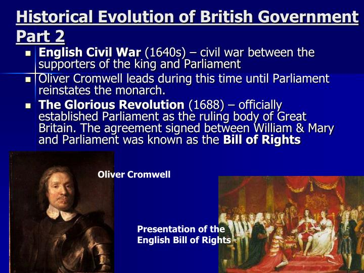 Historical Evolution of British Government Part 2