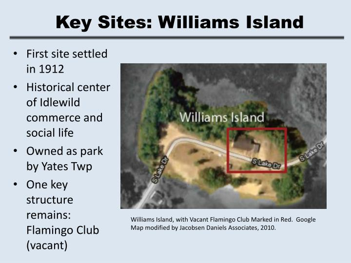 Key Sites: Williams Island