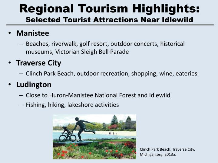 Regional Tourism Highlights: