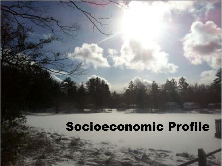 Socioeconomic Profile