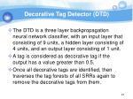 decorative tag detector dtd2