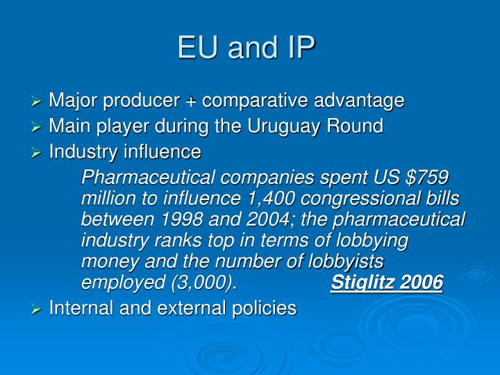 Eu and ip
