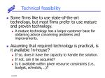 technical feasibility1