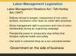 labor management legislation1