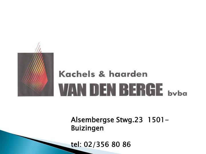 Alsembergse Stwg.23 1501-Buizingen