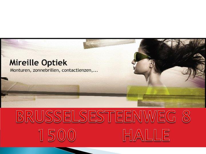 BRUSSELSESTEENWEG 8  1500         HALLE