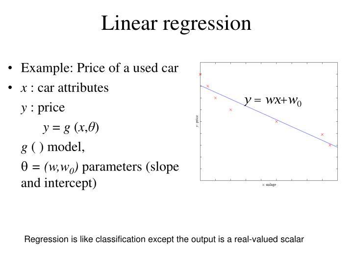 Linear r