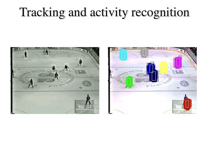 Tracking and activity recognition