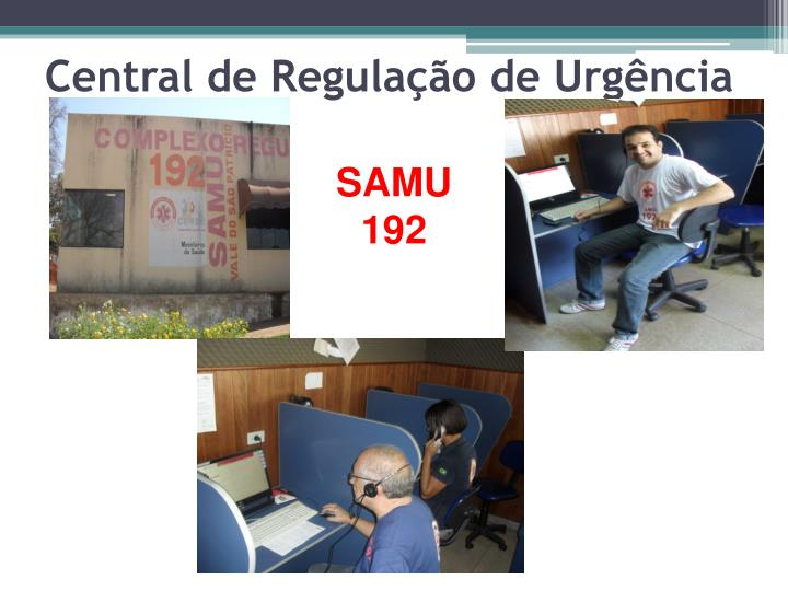 Central de Regulação de Urgência