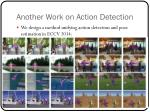 another work on action detection