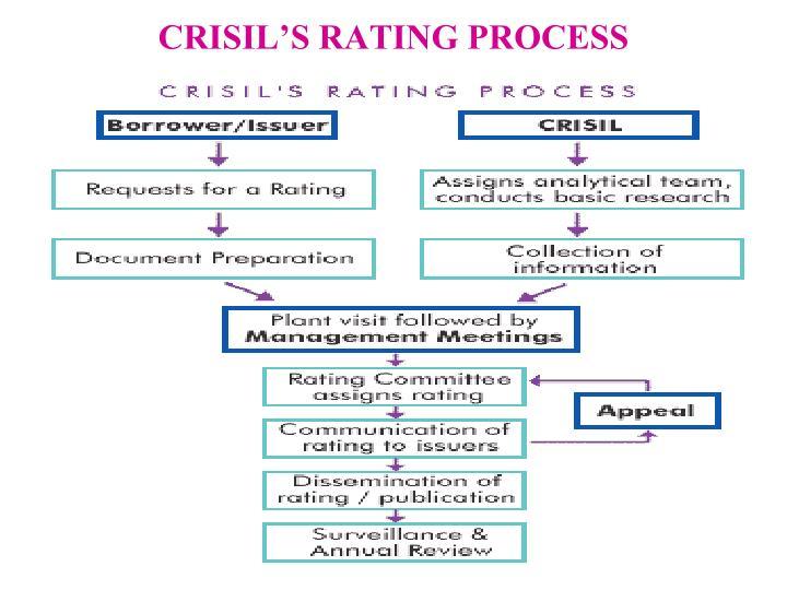 CRISIL'S RATING PROCESS