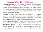 services offered by care contd1