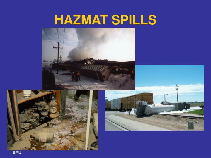 HAZMAT SPILLS