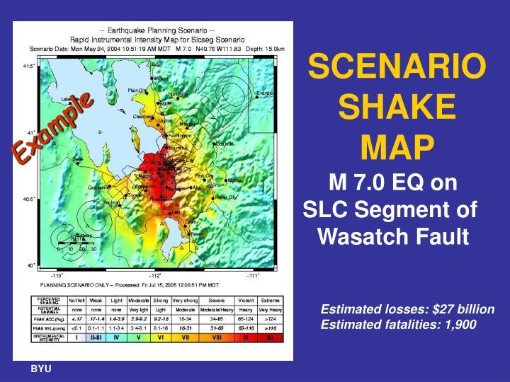 SCENARIO SHAKE MAP