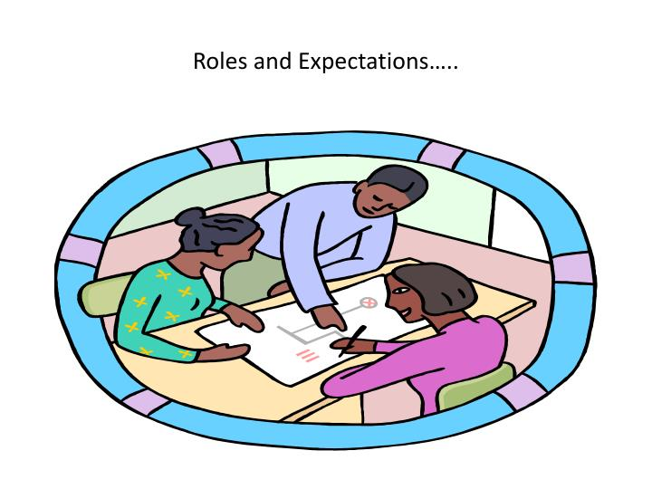 Roles and Expectations…..