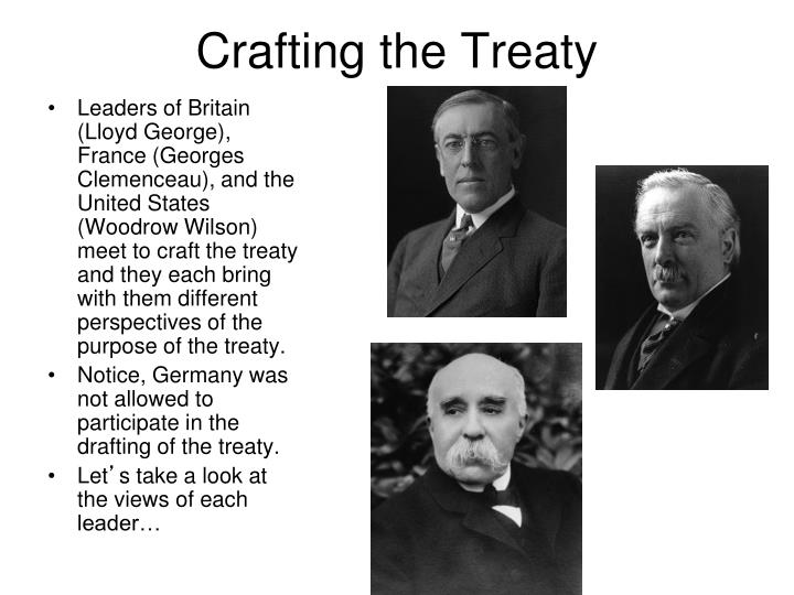 Crafting the Treaty