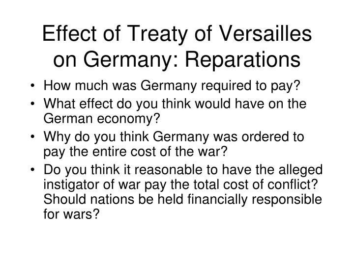 the treaty of versailles was unfair on germany essay Germany / was the treaty of versailles fair was the treaty of versailles fair essay clause 231 makes them feel more unfair because they said germany was the.