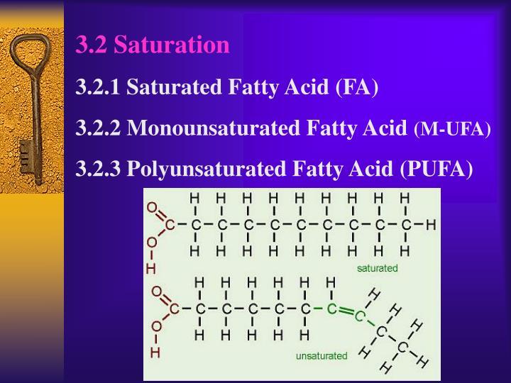 3.2 Saturation