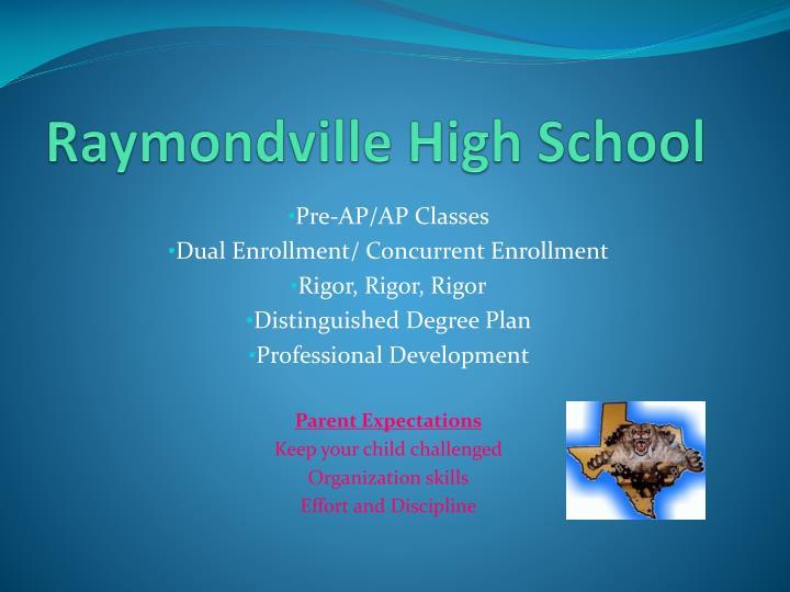 Raymondville High School