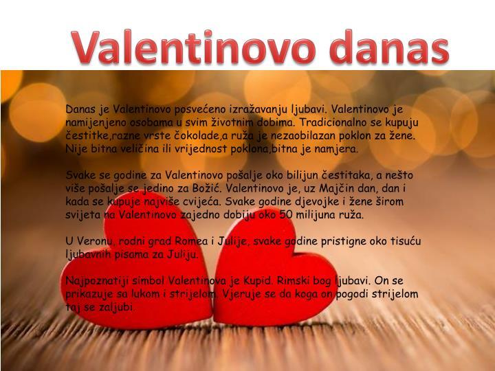 Valentinovo danas