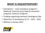 what is sequestration2
