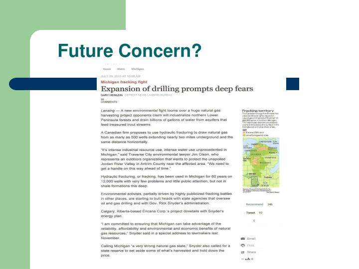 Future Concern?