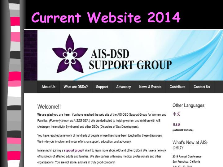Current Website 2014