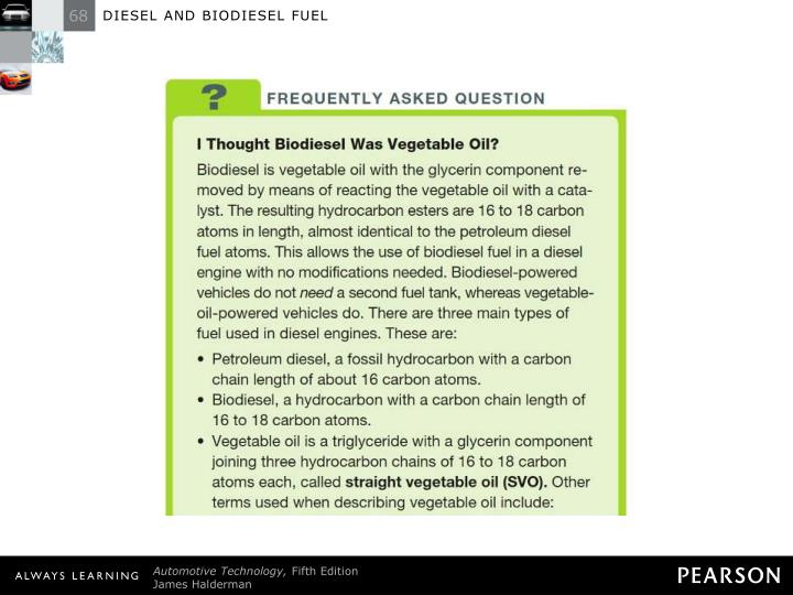 FREQUENTLY ASKED QUESTION: I Thought Biodiesel Was Vegetable Oil?