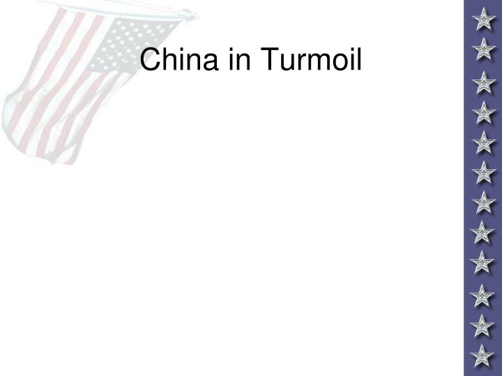 China in Turmoil