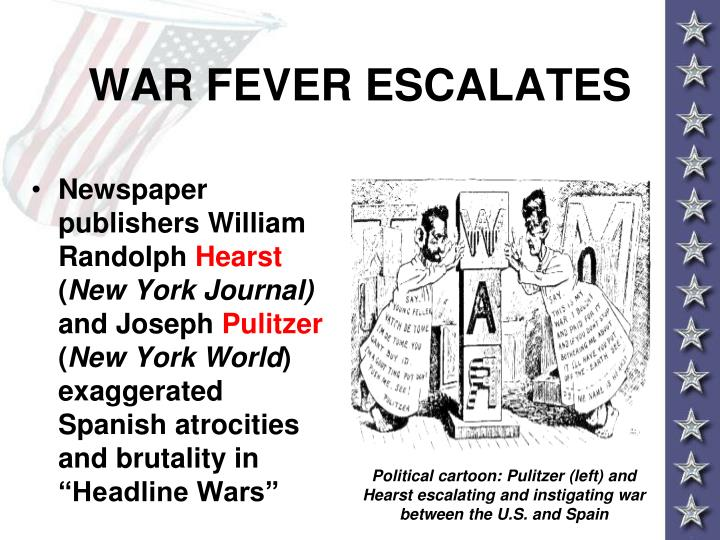 WAR FEVER ESCALATES