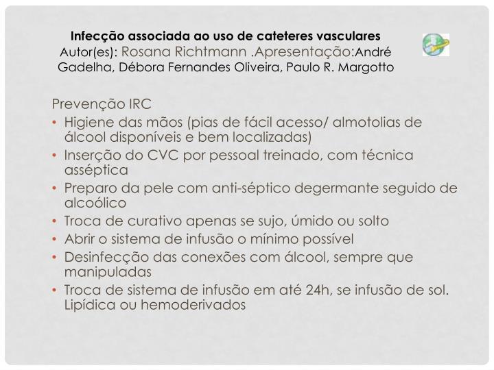 Prevenção IRC