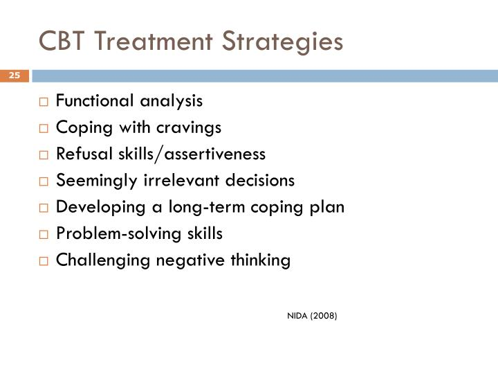 CBT Treatment Strategies