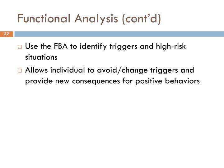 Functional Analysis (cont'd)