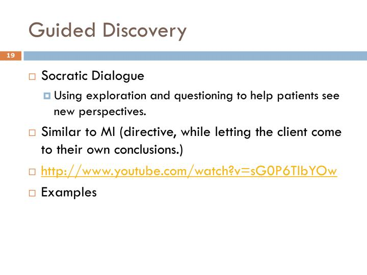 Guided Discovery