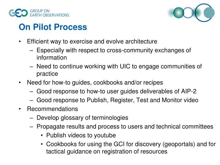 On Pilot Process